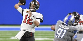 Brady-led Bucs top Lions 47-7 to end 13-year playoff drought