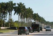 Trump cuts short his Florida vacation, no reason given