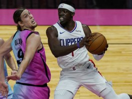 Clippers rally from 18 points down, top ailing Heat 109-105
