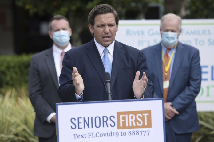 DeSantis ask for more COVID-19 vaccine doses, Biden admin challenges
