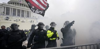 Protesters swarm to Capitol, halt session on Biden victory