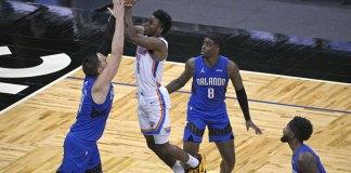 Thunder dominate second half and beat Magic 108-99