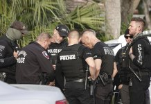 2 agents killed, 3 wounded serving warrant, gunman dead