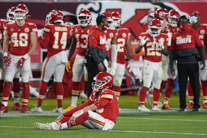 3rd down struggles doom Mahomes, Chiefs in Super Bowl