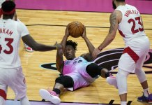 Butler leads Heat to 4th straight win, 116-108 over Raptors