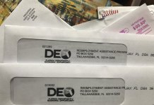 Fraud contributed to surge in Florida jobless aid claims