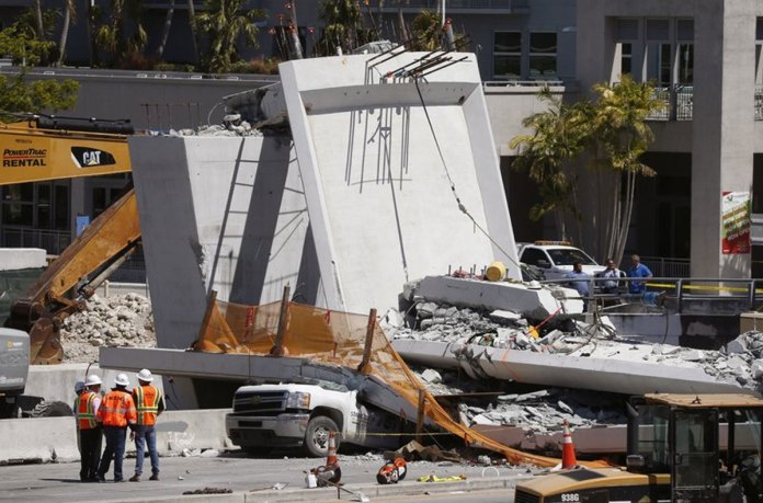 Plans underway to replace bridge that collapsed, killing 6