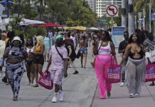 Miami's South Beach confronting disastrous spring break