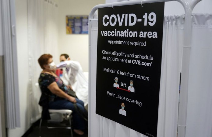 People vaccinated against COVID-19 still wait for advice
