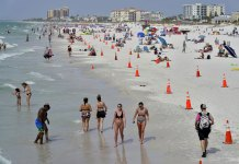 Spring-break partying falls victim to COVID-19 crisis