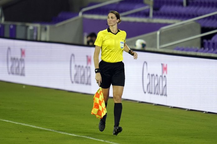 Woman officiate men's World Cup qualifiers