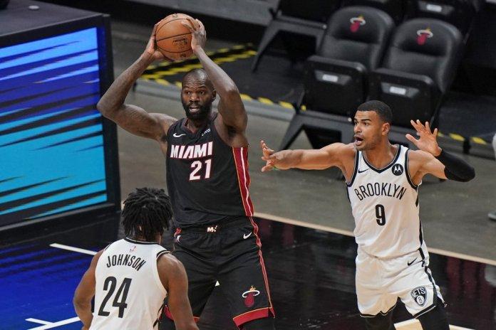 Bam Adebayo's jumper lifts Heat past Nets, 109-107