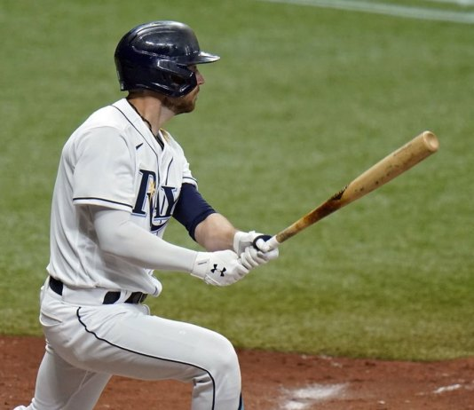 Hill sharp, Kluber roughed up as Rays beat Yankees 10-5