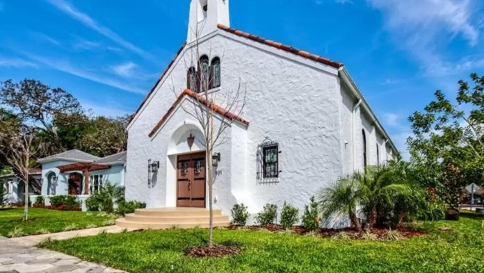 Historic St. Petersburg church now a 4-bedroom $1.3 million home