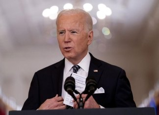 More action, less talk, distinguish Biden's 100-day sprint