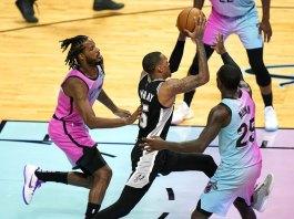 Spoelstra gets win No. 600, Heat top Spurs 116-111