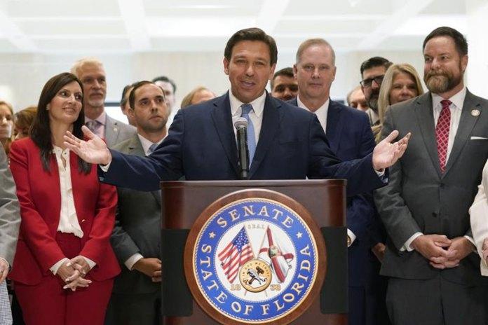 DeSantis signs GOP voting law restricting ballot drop boxes