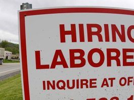 Jobless claims fall to 406,000, a new pandemic low