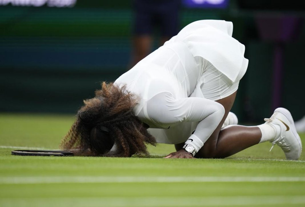 'Sad story': An injured Serena Williams is out of Wimbledon