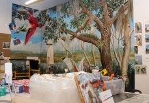 Camera Shop mural restoration clicks in Delray Beach