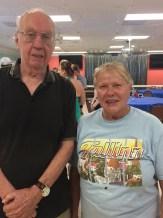 Jaan Kuuskvere and Aleksandra. KFES picnic, 22 aprill 2017, Seminole, FL. Foto: Inne Joonsar