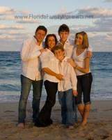 florida family vacation portraits