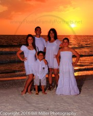 Florida family vacation portraits on Florida beaches