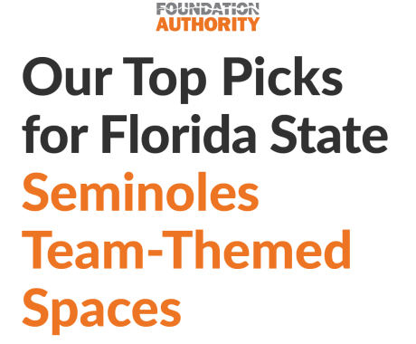 Our Top Picks for Florida State Seminoles Team-Themed Spaces