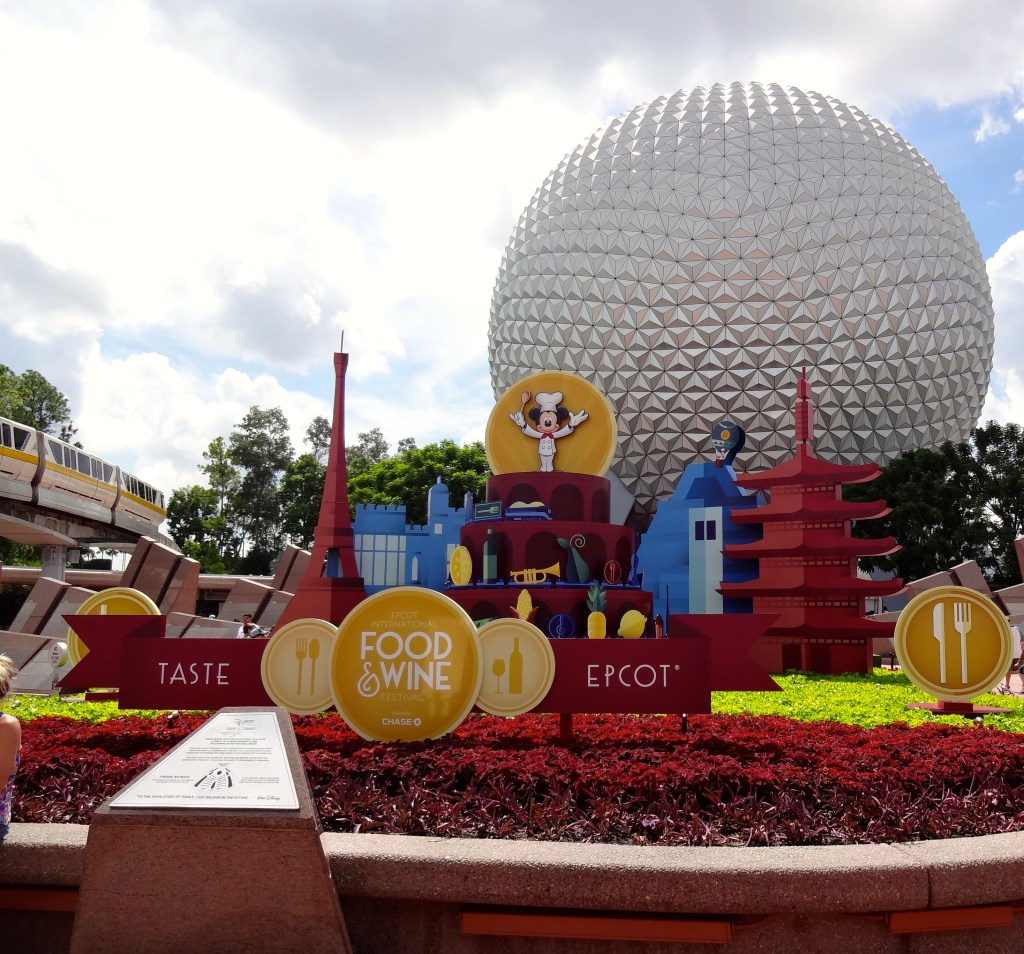 Food and Wine Theme - Taste Epcot!