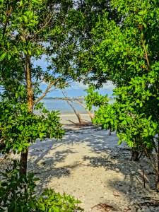 Public Beach Access on Sanibel's East End Near the Lighthouse
