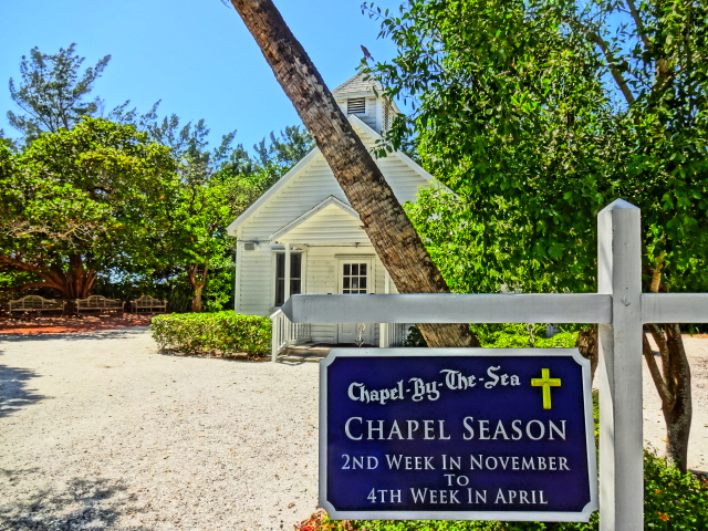 Chapel by the Sea on Captiva Island - Open seasonally