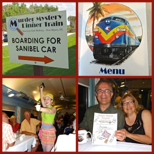Murder Mystery Dinner Train Attraction in Ft Myers, Florida