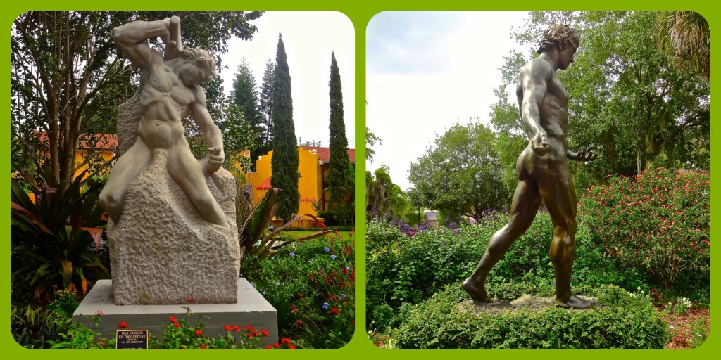 Two Popular Sculptures on Display at Albin Polasek Sculpture Gardens in Winter Park Florida