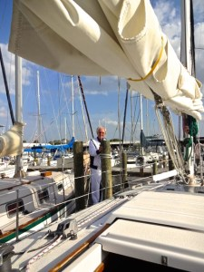 Hubby LOVED His Sailing Lessons! from Eagle Yachts!