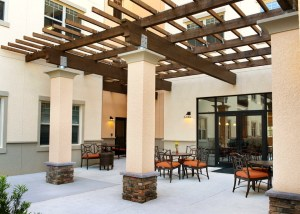 Outdoor Patios at Volterra in ChampionsGate Florida