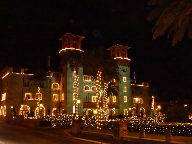 Lightner Museum in St. Augustine During Nights of Lights