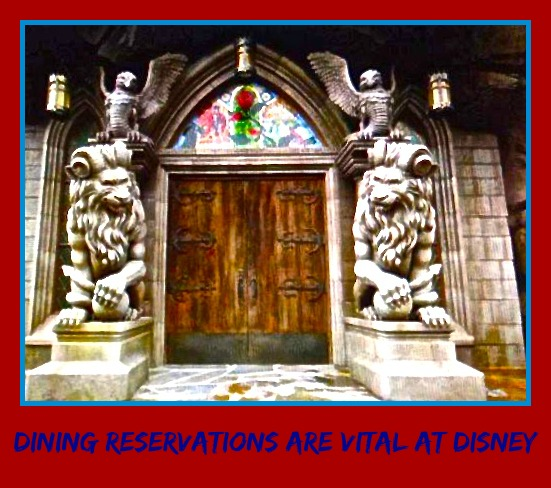 Dining Reservations Are Vital At Disney