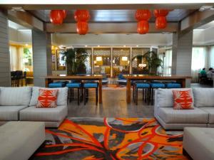 Marriott Cypress Harbour Lobby