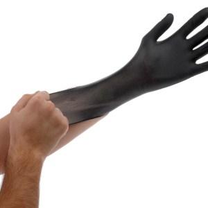 Black Lightning Gloves, Medium, pack of 100
