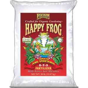 Happy Frog Tomato & Vegetable Dry Fertilizer 50 lb bag