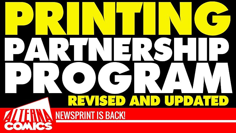 alterna comics printing partnership program