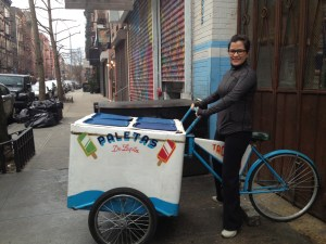 teresa, florida girl cooks, new york, travel, tacombi, mexican, paleta cart, dream cart