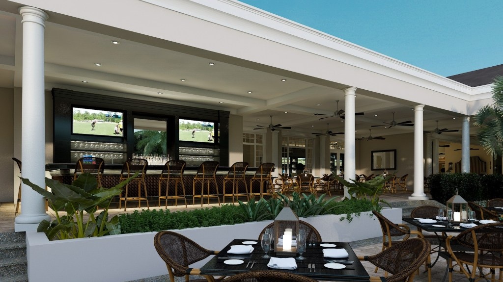 outdoor bar & grille