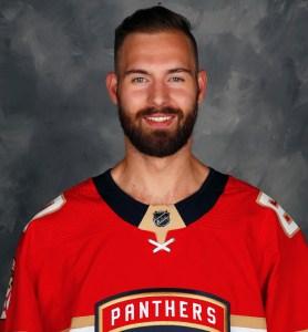 Florida Panthers goalie Chris Driedger