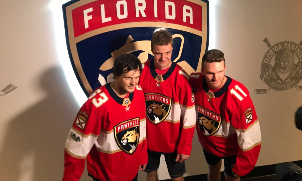 Florida panthers lines