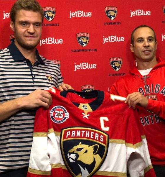 Sasha barkov panthers captain