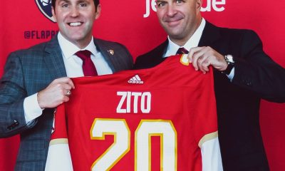 Panthers GM Bill Zito