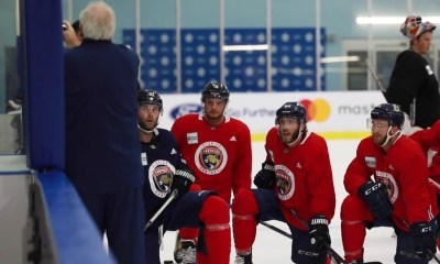 Florida training panthers camp