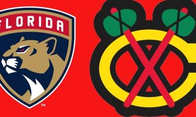 Panthers Blackhawks game
