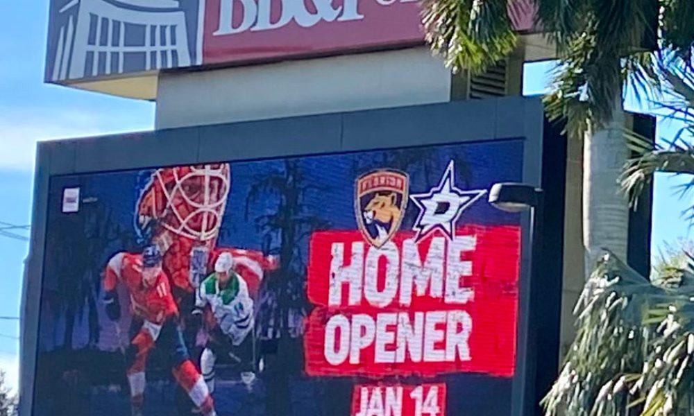 Dallas Stars covid Panthers